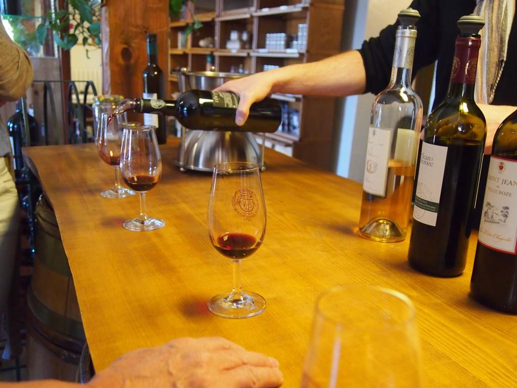Vinsmaking på Domaine Saint Jean